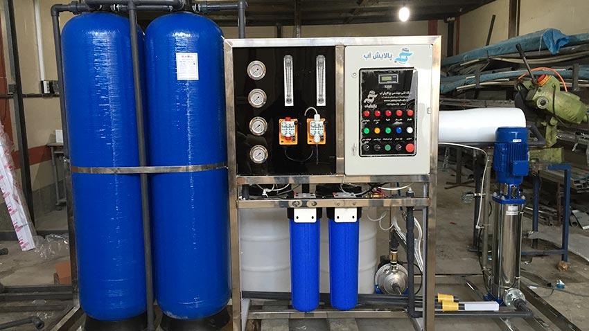 کاربرد دستگاه های تصفیه آب صنعتی و نیمه صنعتی